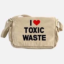 I-Heart-Toxic-Waste Messenger Bag