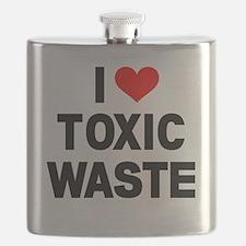 I-Heart-Toxic-Waste Flask