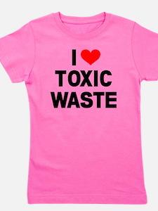 I-Heart-Toxic-Waste Girl's Tee