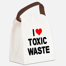 I-Heart-Toxic-Waste Canvas Lunch Bag