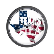 Texas Tea 1 Wall Clock