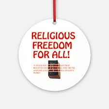 RELIGIOUSTOL Round Ornament