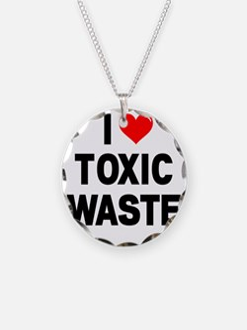 I-Heart-Toxic-Waste-Marked Necklace