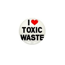 I-Heart-Toxic-Waste-Marked Mini Button