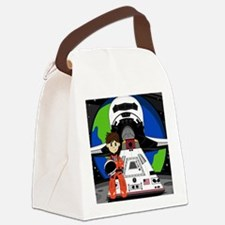 Spaceman Pad4 Canvas Lunch Bag