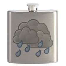 Rain Storm Clouds Flask