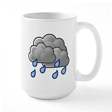 Rain Storm Clouds Mugs