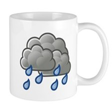 Rain Storm Clouds Mugs