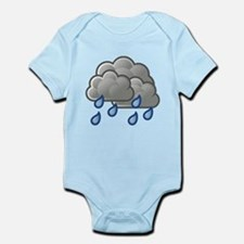 Rain Storm Clouds Body Suit