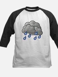 Rain Storm Clouds Baseball Jersey