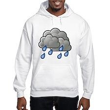 Rain Storm Clouds Hoodie
