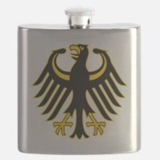 Retro German Eagle Yellow Flask