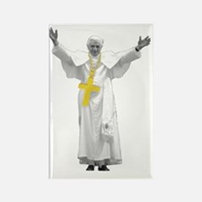 pope Rectangle Magnet