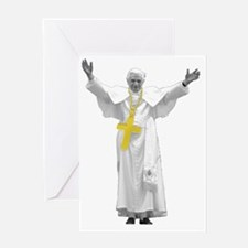 pope Greeting Card