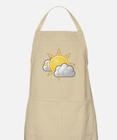 Partly Cloudy Weather Apron