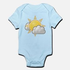 Partly Cloudy Weather Body Suit