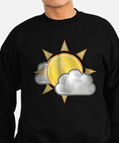 Partly Cloudy Weather Sweatshirt