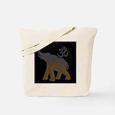 ganesha1-blk Tote Bag