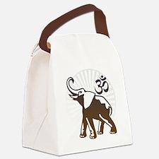 ganesha1-lightbg Canvas Lunch Bag