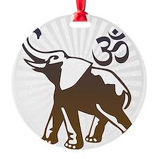ganesha1-lightbg Ornament