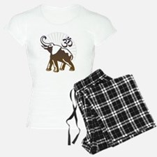ganesha1-wht Pajamas
