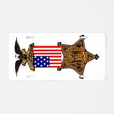 G.A.R. Color Badge Aluminum License Plate