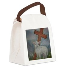 The Lamb of God Canvas Lunch Bag