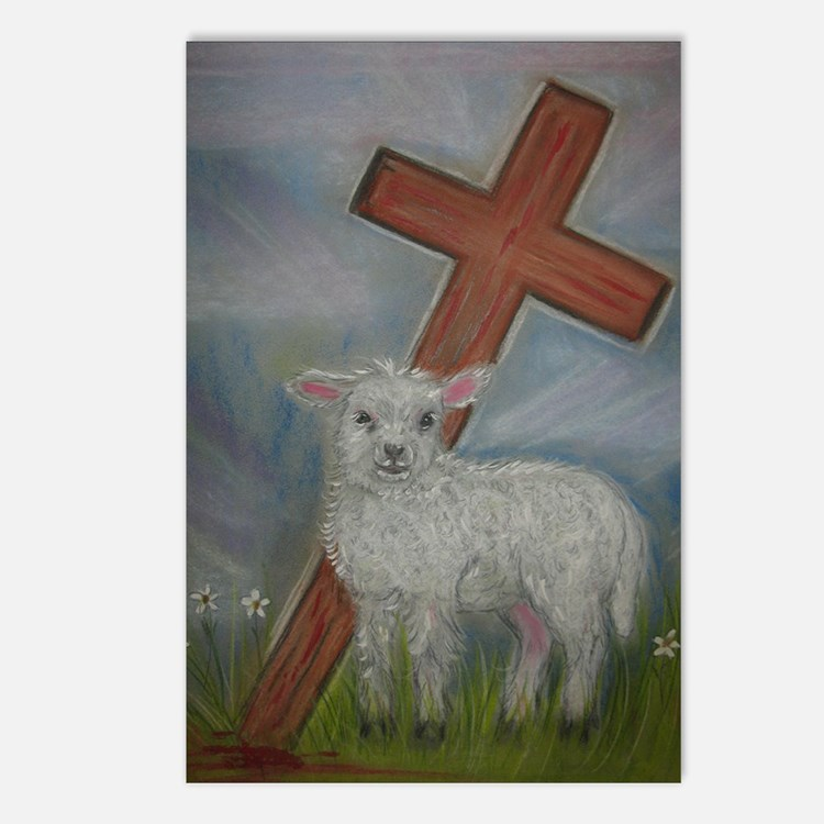 The Lamb of God Postcards (Package of 8)