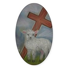 The Lamb of God Decal