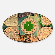 fortune teller  Sticker (Oval)