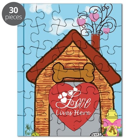 Love Lives Here Puzzle
