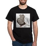 Brown Teager Cap Dark T-Shirt