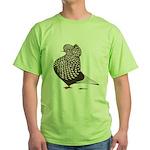 Brown Teager Cap Green T-Shirt