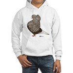 Brown Teager Cap Hooded Sweatshirt
