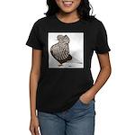 Brown Teager Cap Women's Dark T-Shirt