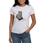 Brown Teager Cap Women's T-Shirt