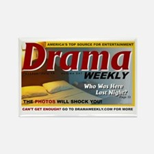 dramaweekly-cropped Rectangle Magnet