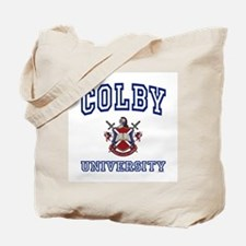 COLBY University Tote Bag