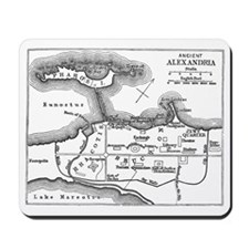 alexandriaplan(pck57) Mousepad