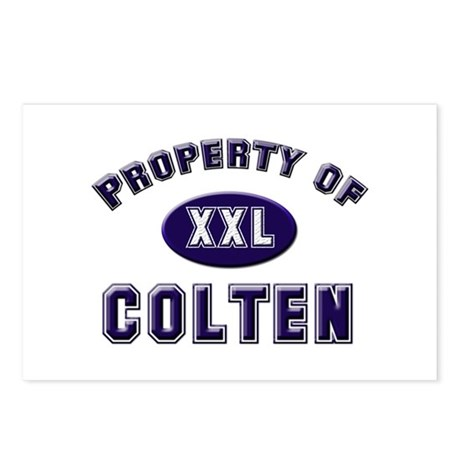 Property of colten Postcards (Package of 8)