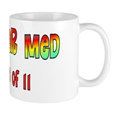 Nuclear Med class of 11 blue green Mug