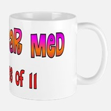Nuclear med class of 11 pink purple ora Mug