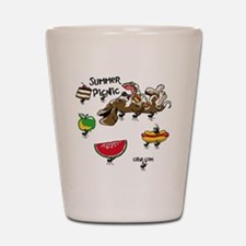 Cafepress Picnic design copy Shot Glass