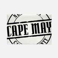 Cape May Title W Rectangle Magnet