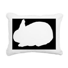 rabbitlp Rectangular Canvas Pillow