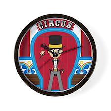 Circus Pad1 Wall Clock