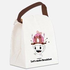 coffee donut apparel Canvas Lunch Bag