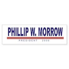 Phillip W Morrow (simple) Bumper Bumper Sticker