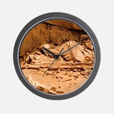 Kiva in Lower Grand Gulch Wall Clock