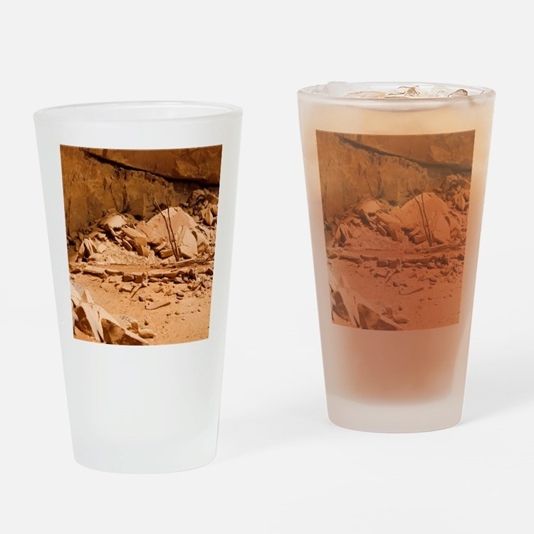 Kiva in Lower Grand Gulch Drinking Glass